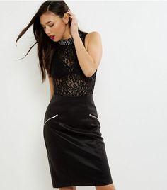 black-zip-trim-leather-look-pencil-skirt- (462×525)