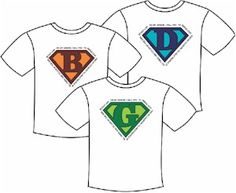 Download our superhero logosfor your tee shirts. Logos have the Girl Scout promise designed around it. Print on sticky back paper and cut outfor one time use or print on transfer paper to iron-on.…