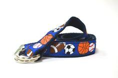 Child Sports Belt, Boy Belt, Baby Sports Belt, Preppy Belt, Adjustable, Football, Baseball, Basketball, Soccer, Sports