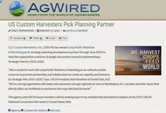 Bright Ideas! Brighter Future!: AgWired...US Custom Harvesters Pick Planning Partn...