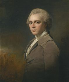 George Romney - PORTRAIT OF GEORGE COWPER (1754-1787) | da ros_with_a_prince