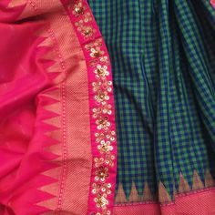 GOURANGI For the  of Benarsi sarees. This one is a keeper. Pictures don't do it justice - emerald green  bubble gum pink and gold. It's simply beautiful. For purchases email me at  designerayushkejriwal@hotmail.com or what's app me on 00447840384707  We ship WORLDWIDE. #sarees#saris#indianclothes#womenwear #anarkalis #lengha #ethnicwear #fashion #ayushkejriwal#Bollywood #vogue #indiandesigners #handmade #britishasianfashion #instalove #desibride #bollywoodfashion #aashniandco…