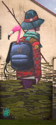 """""""The Explorer"""" by Mr.Woodland in Augsburg, Germany, 10/15 (LP)"""