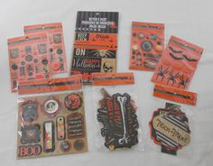 Witch's Dust Halloween Scrapbook Embellishments Recollections Die Cuts Stickers  #Recollections