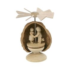 cool Dregeno miniature pyramid-style ornament hand-crafted out of a walnut shellAlexander Taron Home Seasonal D Check more at http://christmasshortstory.com/product/dregeno-miniature-pyramid-style-ornament-hand-crafted-out-of-a-walnut-shell/