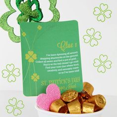Our St. Patty's Day Scavenger Hunt has the perfect printables for an unforgettable night of charm, LUCK, and a wee bit of mischief!