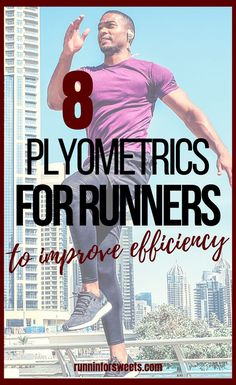 These 8 plyometric exercises for runners will help you gain speed, efficiency and power on the run. This plyometric workout is easily adapted for beginners to advanced athletes alike. Try these exercises to enhance your running! #plyometricexercises #plyometricworkout Plyometric Workout, Plyometrics, Full Body Strength Workout, Arm Workout For Beginners, Lower Ab Workouts, Lower Abs, Workout Challenge, No Equipment Workout, Body Weight