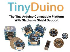 TinyDuino - The Tiny Arduino Compatible Platform w/ Shields! by Ken Burns — Kickstarter