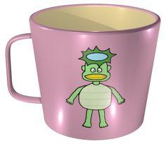 Kappa Mug / #Tableware #河童 #妖怪