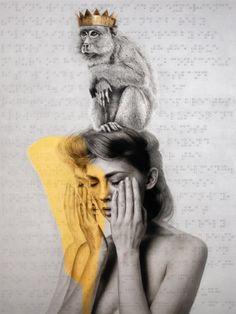 WISDOM, 2012, Oil On Canvas, 155.892x201.93 cm  Courtesy of Roy Nachum