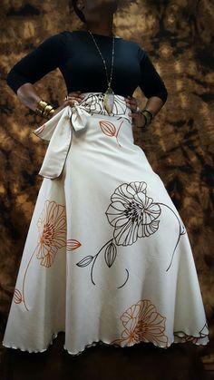 African Attire, African Wear, African Fashion, Ankara Styles, High Waisted Skirt, Locs Styles, Wrap Skirts, Choir, My Style