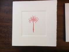 MISU card design | red allium Japanese Paper, Allium, Silk Screen Printing, Woodblock Print, Wool Felt, Watercolor Art, Pure Products, Prints, Red