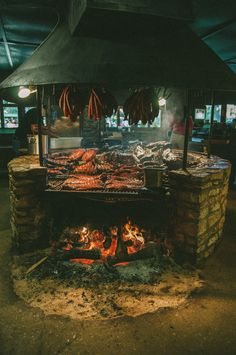 The Salt Lick, Driftwood, Texas / Nilord Gatdula....I know this isn't a recipe but what an awesome pit!! could cook a few hogs on this bad boy ;))~