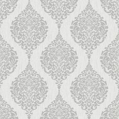 Luna Grey Wallpaper by Graham and Brown