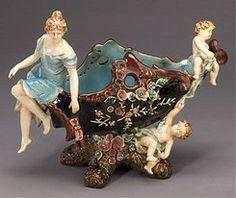 Meissen Style Table Top Porcelain
