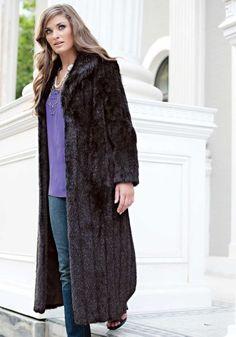 Dusty Teal Tibetan Lamb Fashionista Faux Fur Jacket   Lynx, Fur ...
