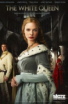 The White Queen On Starz -  I am loving this new mini-series on Starz!  Got to watch the first three episodes with OnDemand's free fall preview ... then had to get Starz to watch the rest...but got it free for 6 months!!