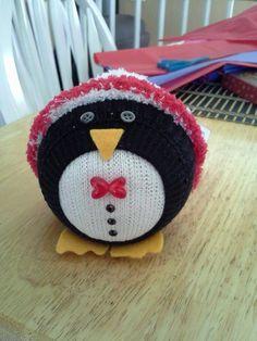 Sock penguin ❤