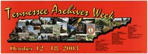 Archives Week 2003