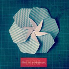 origami cd flower - Google 検索