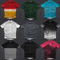 Never too early to get back into short sleeves and has dropped the first round of their latest collection. Hit the Shop Now Button Cycling Wear, Bike Wear, Cycling Jerseys, Cycling Outfit, Cycling Clothing, Road Cycling, Bike Equipment, Bike Kit, Cool Bike Accessories