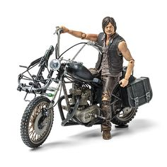 THE WALKING DEAD Daryl Dixon Motorcycle Figure