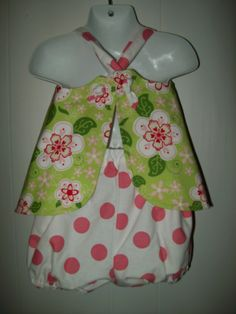 Baby Boutique Reversible Tie Knot Pinafore
