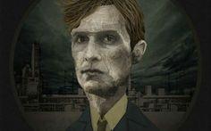 illustration True Detective