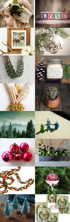 Woodland Pines ⊰•❥ by Scarlett on Etsy--Pinned with TreasuryPin.com