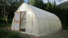 Cheap greenhouse to build