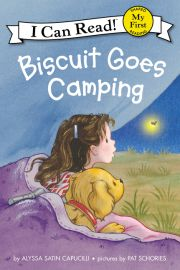 "new easy book ""Biscuit Goes Camping"" By: Alyss Capucilli"