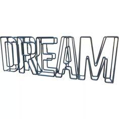 Decoração industrial - objeto decorativo de metal Dream Metal, Company Logo, Peace, Urban, Shops, Metals, Sobriety, World