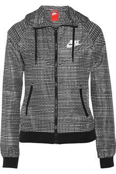 NIKE Windrunner printed shell running jacket