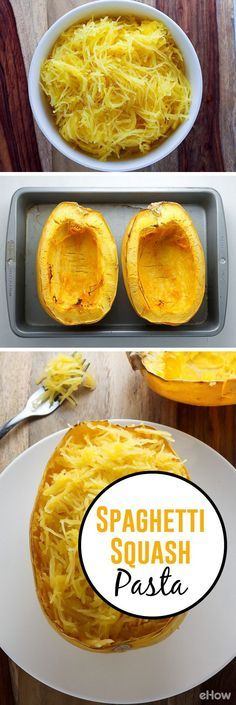 Trendy Ideas Weight Watchers Recipes With Points Low Carb Spaghetti Squash Low Carb Spaghetti, Spaghetti Squash Pasta, Courge Spaghetti, How To Make Spaghetti, Eggplant Spaghetti, Pasta Recipes, Low Carb Recipes, Vegan Recipes, Cooking Recipes