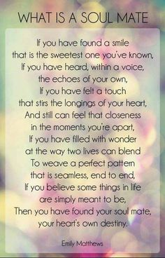 Soulmate #quote