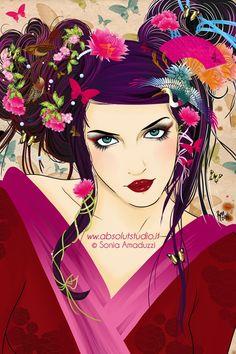 Google Image Result for http://digital-art-gallery.com/oid/53/600x900_10109_Sakura_Birds_and_Flowers_2d_illustration_girl_kimono_geisha_flowers_birds_portrait_picture_image_digital_art.jpg