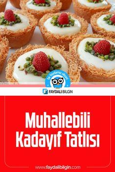 Muhallebili Kadayıf Tatlısı Tarifi - Faydalı Bilgin  #muhallebili #kadayıf #kadayıflımuhallebi #tatlı #tatlıtarifi #yemek #yemektarifi #yemektarifleri #recipe #recipes #tarif #tarifler #video Cookie Do, Pudding, Cookies Policy, Cheesecake, Desserts, Food, Vanilla, Tailgate Desserts, Deserts