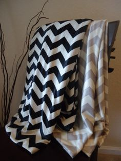Chevron Throw Blanket.