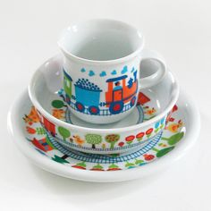 byGraziela kids plate bowl and cup set