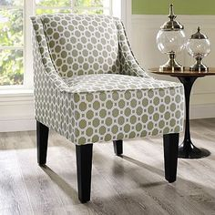 Charlotte Honeycomb Swoop Arm Chair