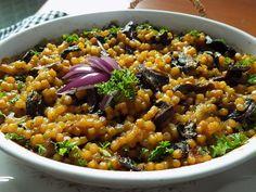 Falešný kuba z tarhoni recept - TopRecepty. No Cook Meals, Vegan Vegetarian, Quinoa, Acai Bowl, Chili, Beans, Food And Drink, Soup, Rice
