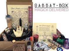 Sabbt Box-A Pagan subscription box, delivered to you each sabbat. Discover magical products that will aid you down your spiritual path. http://www.sabbatbox.com