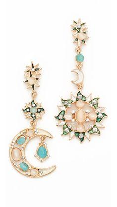 Shashi Moon Star Earrings