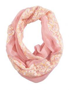 Pastel Lace Fabric Mix Scarf | Girls Scarves & Kimonos Fashion Scarves & Hats | Shop Justice
