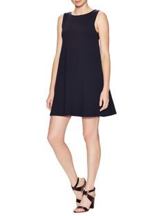 Susana Monaco Grace Slip Pocket Mini Dress