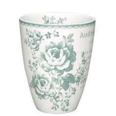 Toute la collection de vaisselle Greengate: les bols, les tasses, les mugs, les assiettes, coquetiers, pichets, théières
