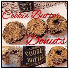 Cookie Butter Donuts