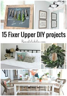 If you love the look of the FIXER UPPER style, channel your inner Joanna with…