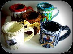MAGGII Pracownia Artystyczna: Papierowa wiklina