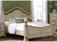 Liberty Antique Ivory Posterbed Set